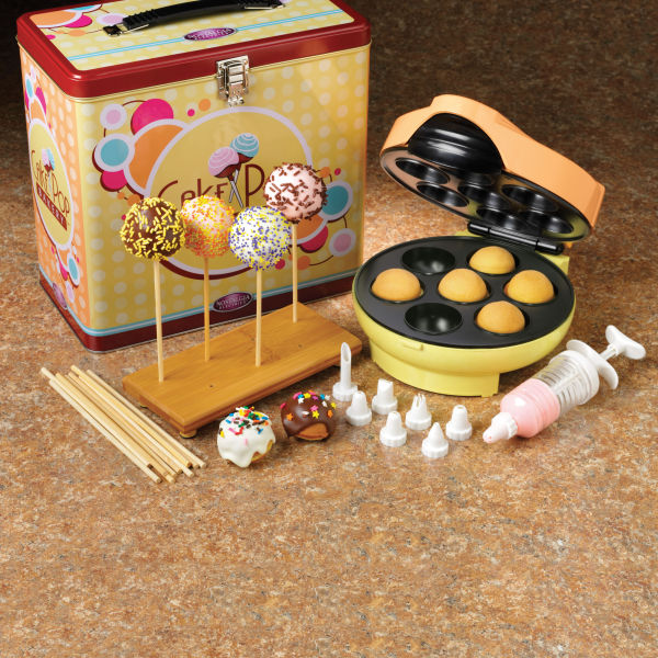 nolstagia electrics cake pop maker kit parties. Black Bedroom Furniture Sets. Home Design Ideas