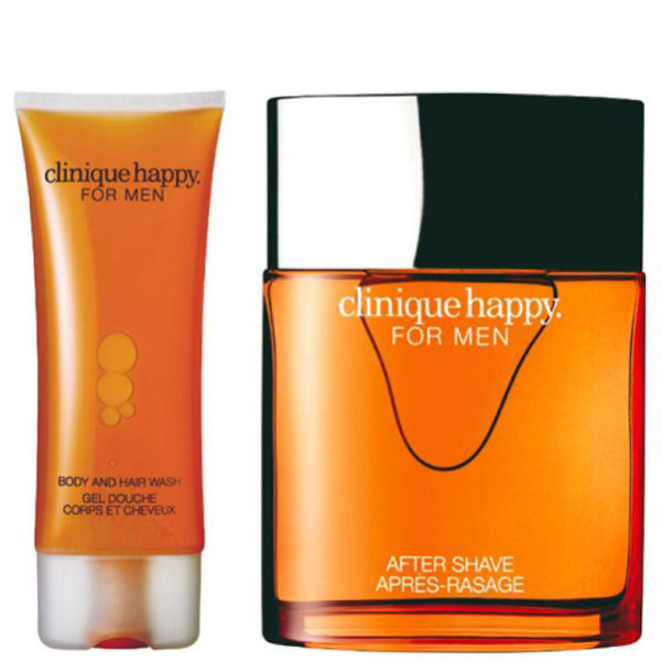 Clinique For Men Happy Duo(Spray, Hair & Body Wash 100 ml)