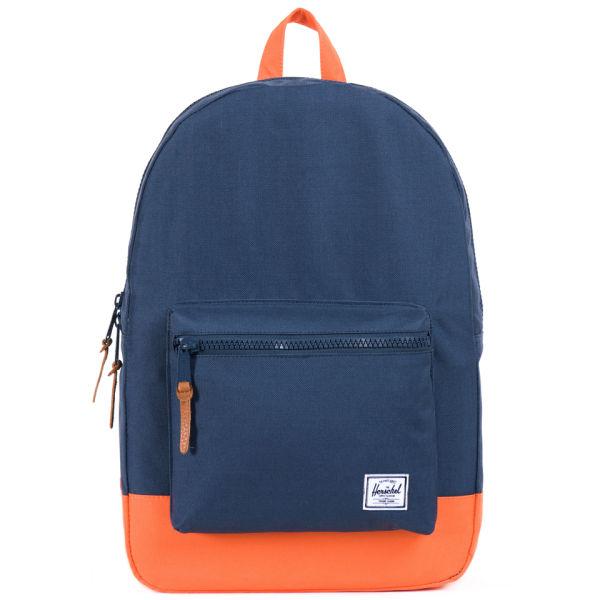 Herschel Supply Co. Settlement Backpack - Navy/Mandarin