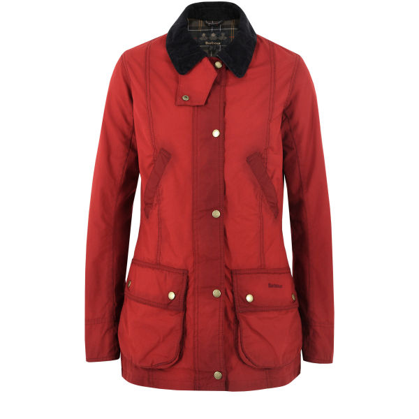 Barbour Women's Chilli Vintage Beadnell Jacket - Red