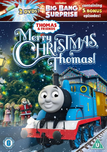 Thomas And Friends Merry Christmas Thomas Dvd Zavvi