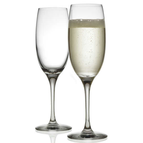 Alessi mami xl set of 2 champagne flutes buy online for Buy champagne glasses online