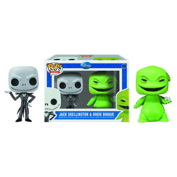 The Nightmare Before Christmas Jack & Oogie Boogie 2 Pack