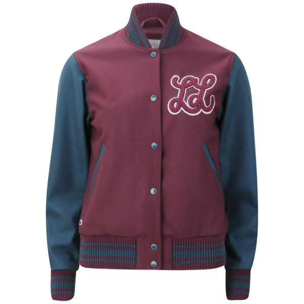 Lacoste Live Women's Baseball Jacket - Griottine Cherry