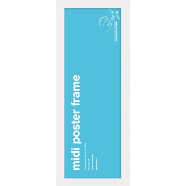 White Frame Midi - 30.5 x 91.5cm