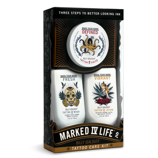 Billy Jealousy Marked IV Life Tattoo Kit