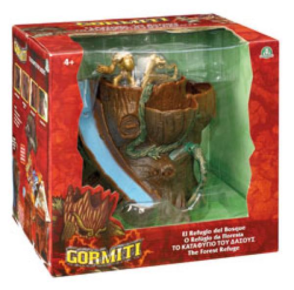 Gormiti Forest Refuge Playset Plus Dvd Iwoot