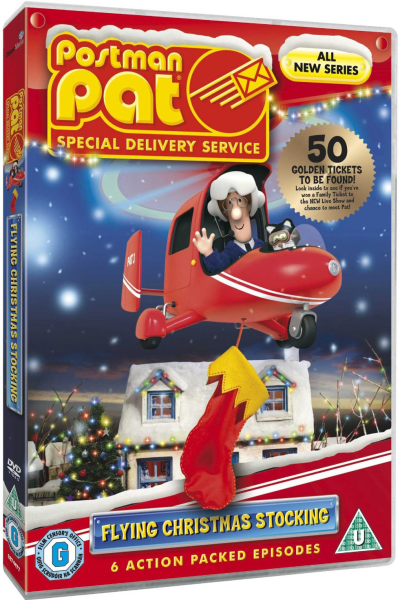 Postman Pat Precious Eggs/Movie Feast/Speedy/Magical Jewel