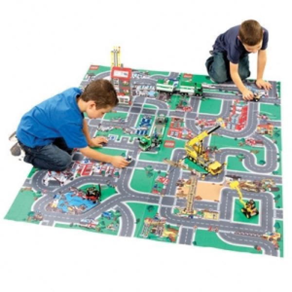 Lego Playmats Police Fire Emergency Construction