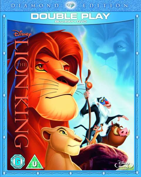 The Lion King - Double Play (Blu-Ray And DVD) Blu-ray