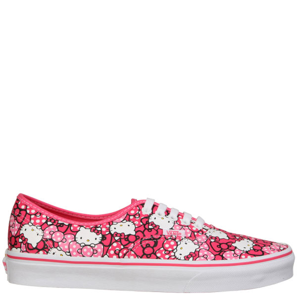 Vans Authentic Hello Kitty Trainers - Morning Glory/Hot Pink