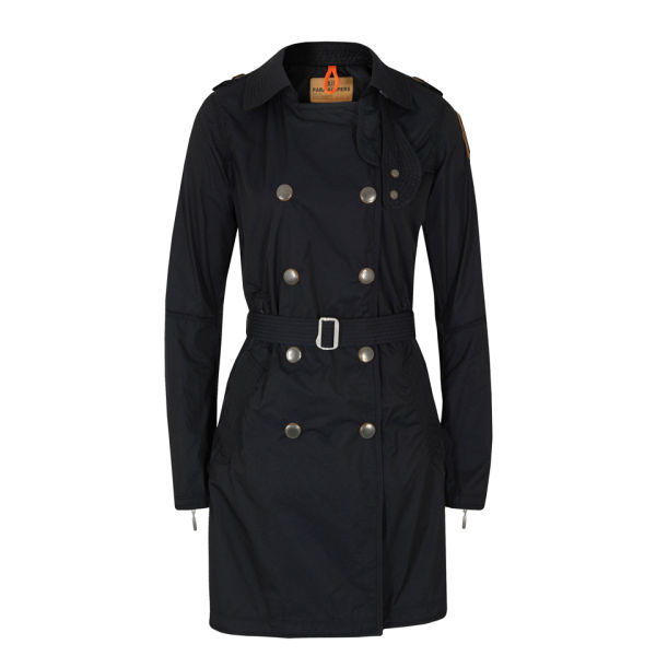 Parajumpers Women's Trench Coat - Navy