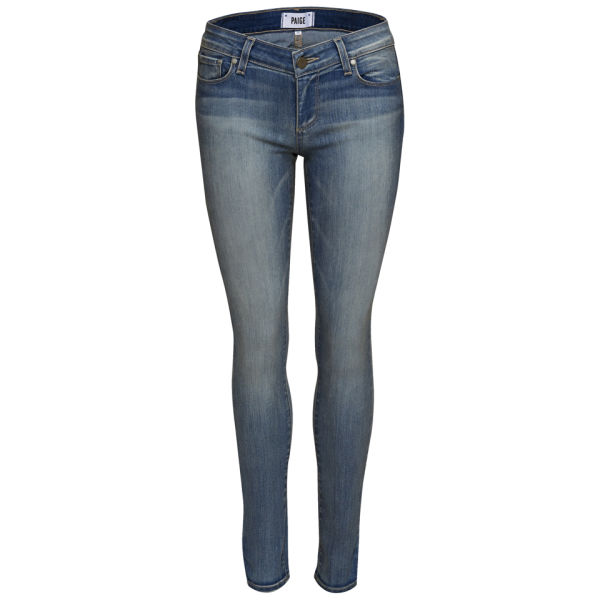 Paige Women's Verdugo Mid Rise Ultra Skinny Jeans - Gratitude