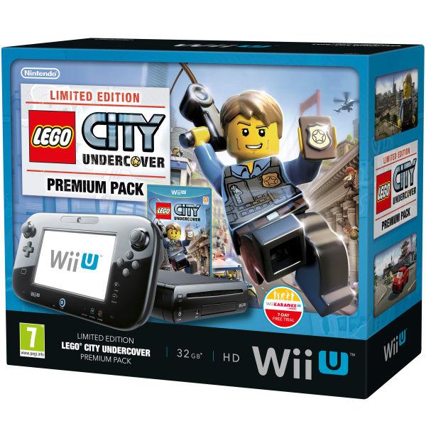 Wii U Premium Pack Includes Lego City Undercover Games