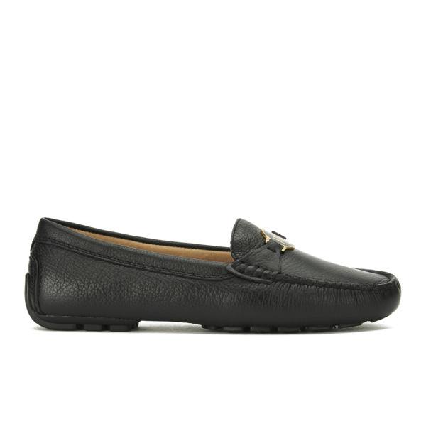 Lauren Ralph Lauren Women's Carley Leather Loafers - Black