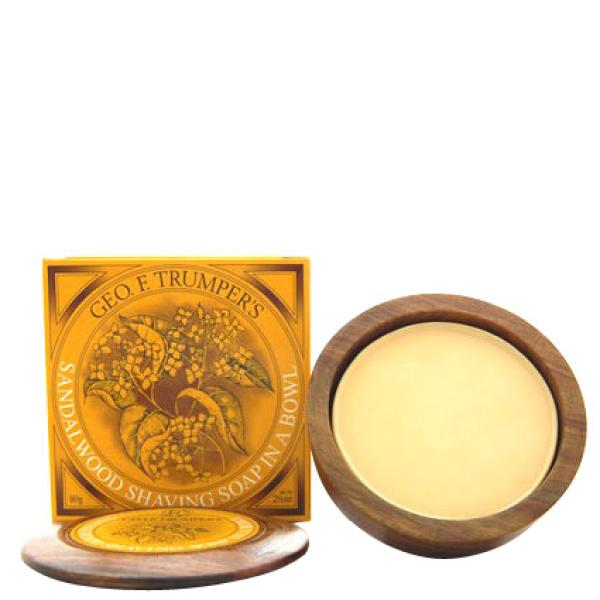 Geo. F. Trumper Sandalwood Hard Shaving Soap Refill 80g