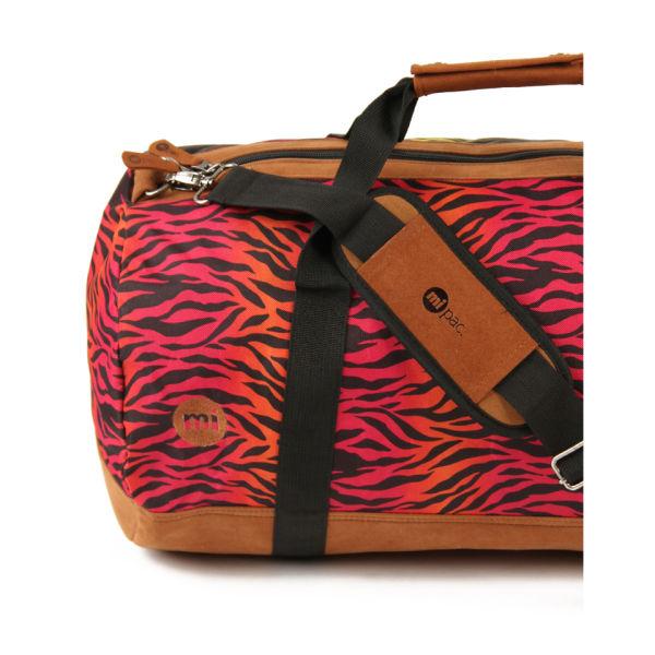 Mi Pac Hot Zebra Print Duffle Bag Rainbow Image 2
