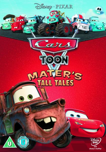 Cars Toon Maters Tall Tales DVD Zavvi
