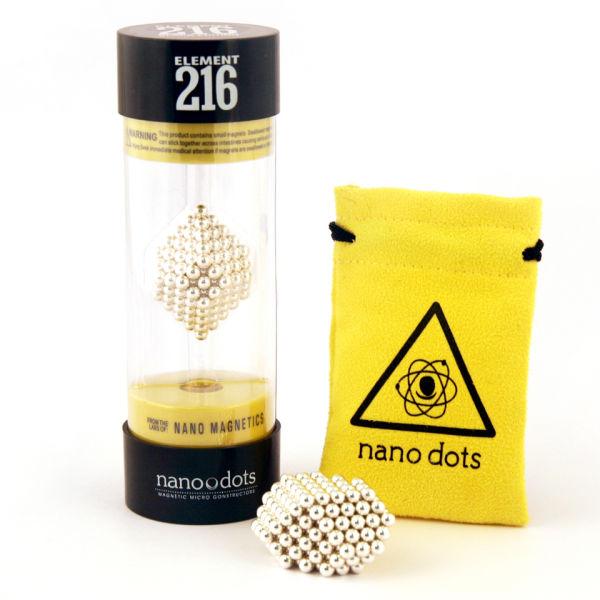 Nanodots Magnetic Constructors Silver - 216 Dots