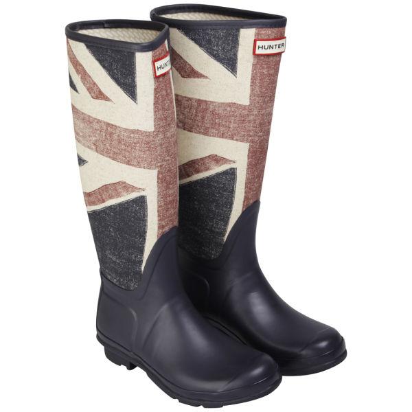 Hunter Women's Original Brit Wellington Boot - Dark Navy