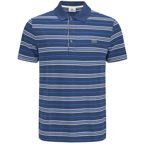Lacoste Men's Striped Polo Shirt - Philippines: Image 1