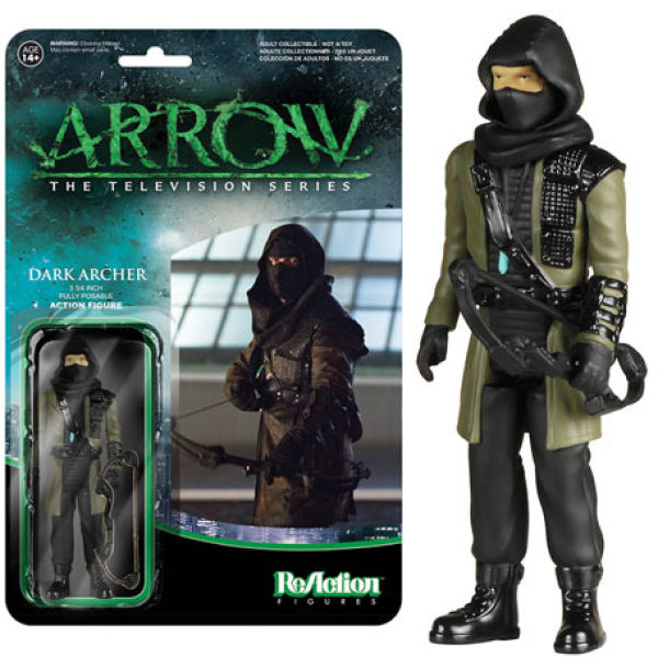 ReAction DC Comics Arrow Archer 3 3/4 Inch Action Figure