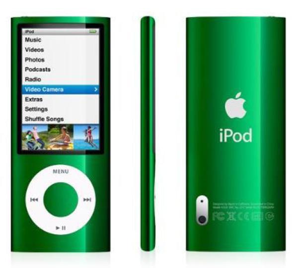 ipod nano 16gb green 5g electronics. Black Bedroom Furniture Sets. Home Design Ideas