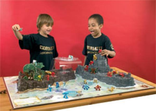 Gormiti Island Of Gorm Playset Plus Dvd Toys Zavvi