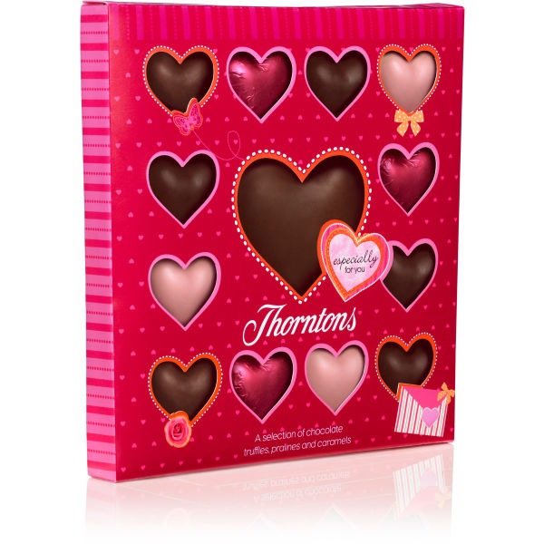 thorntons valentines chocolates
