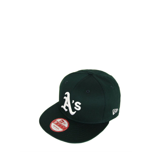 New Era Men's MLB 9FIFTY Oakland Athletics Snapback - Game Green