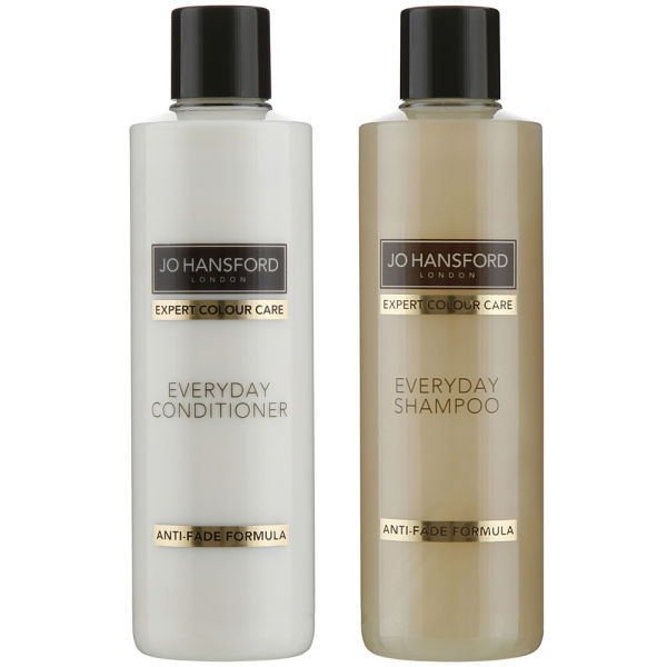 Shampooing Everyday Expert Colour Care de Jo Hansford (250ml) et Après-shampooing (250ml)