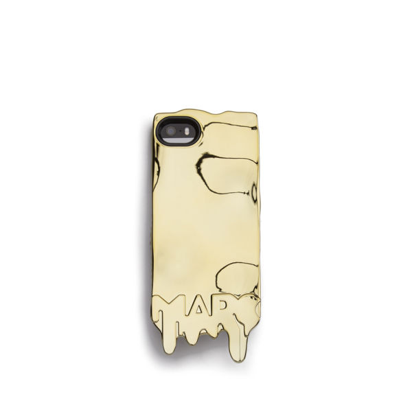 Marc by Marc Jacobs Melts iPhone 5 Case - Metallic Gold