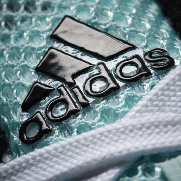 f287e3349a68 adidas Women s adiZero Adios Boost 2 Neon Running Shoes - Light Blue Black   Image