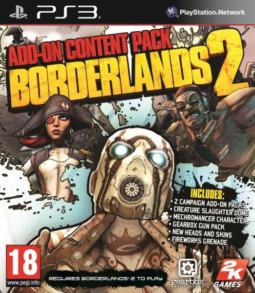 borderlands 2 addon content pack