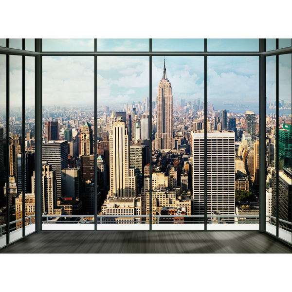 New York Skyline Wall Mural: Image 2 Part 62