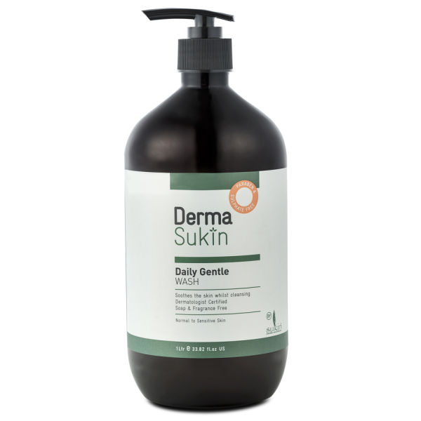 DermaSukin Daily Gentle Soap Free Wash (1 Litre)