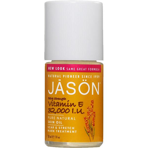 Huile JASON Vitamine E 32,000iu - Traitement contre les cicatrices et les vergetures 30ml