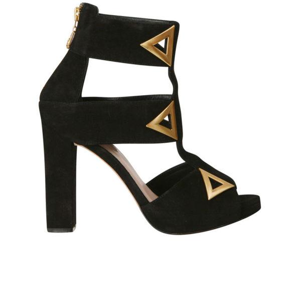 Kat Maconie Women's 'Sylvia' Triangle Heels - Black