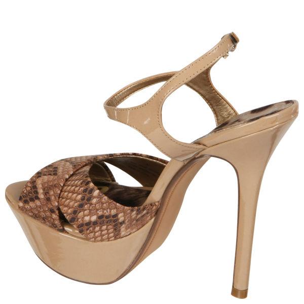 bdf2c3e70123 Sam Edelman Women s Mason Snakeskin Heels - Nude  Image 2