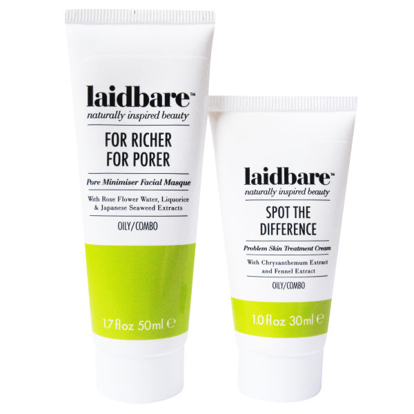 Laidbare Oily Skin Duo Buy Online Mankind