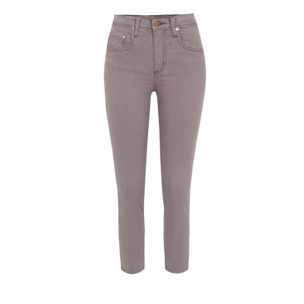 Nobody Women's Cult Crop Jeans - Riviera Brown