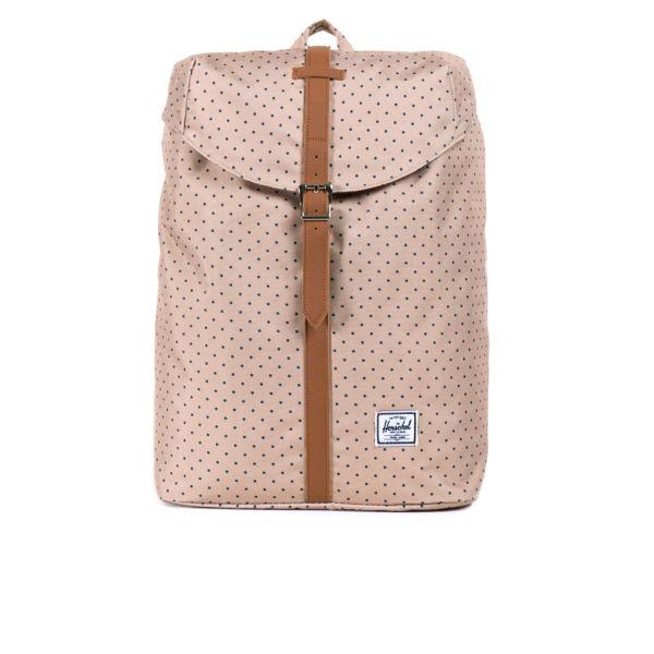 Herschel Supply Co. Post Backpack -  Khaki Polka Dot