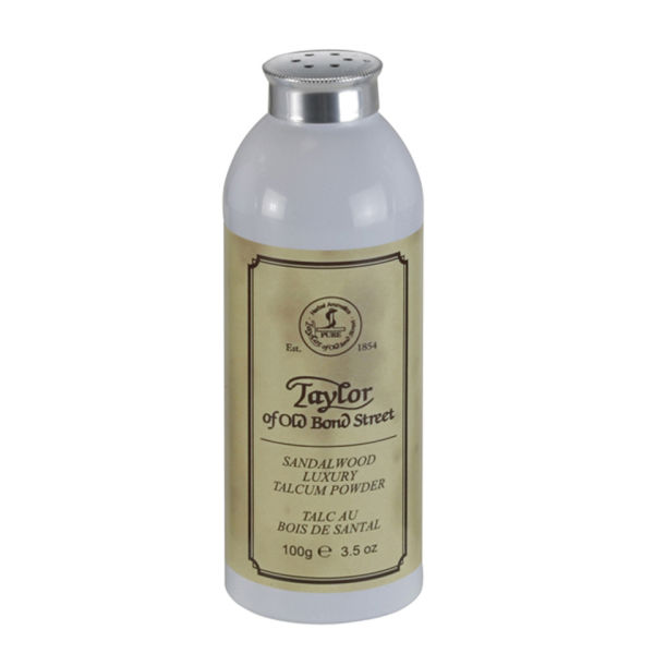 Taylor of Old Bond Street Sandalwood Talcum Powder (100g)