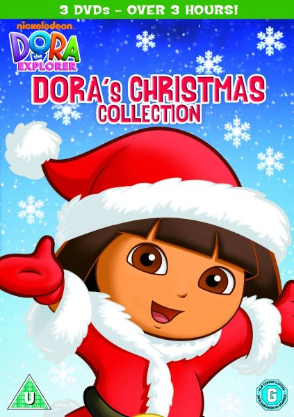 Dora the Explorer: Dora's Christmas Collection DVD | Zavvi.com