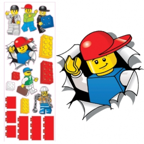LEGO: Maxi Wall Stickers (Large)