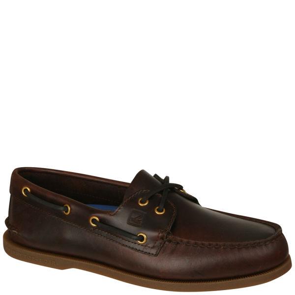 Sperry Men's A/O 2-Eye Shoe - Amaretto