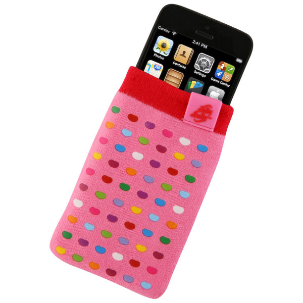 Jelly Belly Mobile Phone Sock Bubblegum Iwoot