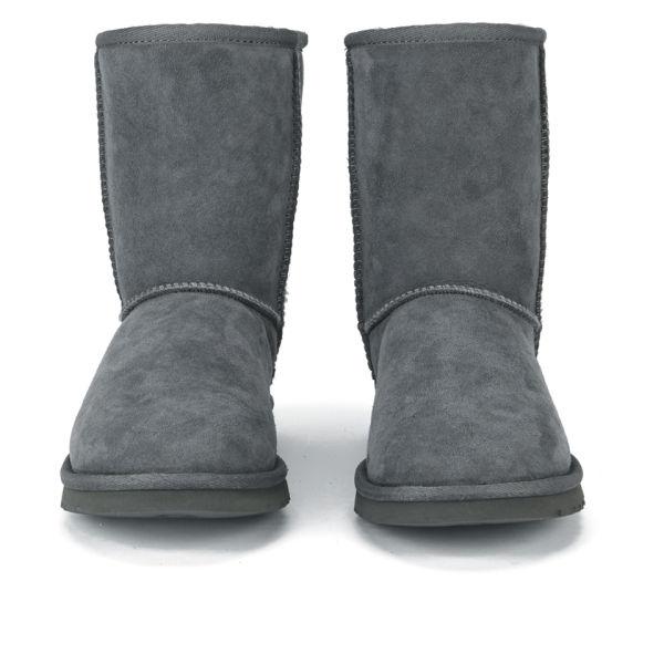 UGG Women's Classic Short Sheepskin Boots - Grey: Image 2
