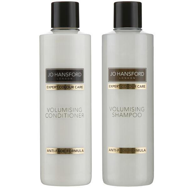 Shampooing et Après-shampooing Volumisant Expert Colour Care de Jo Hansford (250ml)