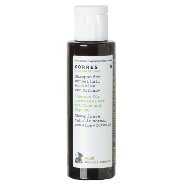 Korres Aloe and Dittany Shampoo (40 ml)